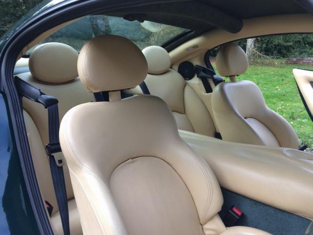 Cerbera rear seats