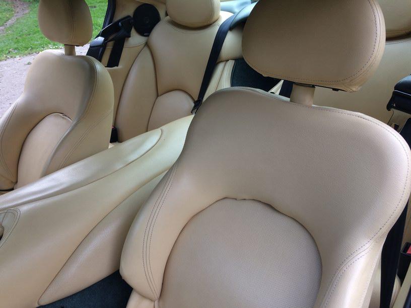 Cerbera front seats
