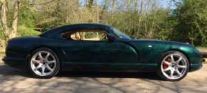 TVR Cerbera side new spider wheels