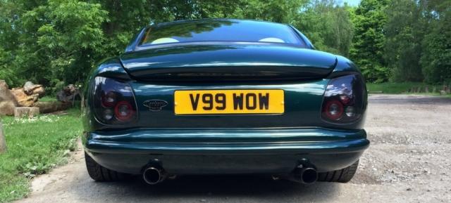 TVR Cerbera custom afterburner rear lights
