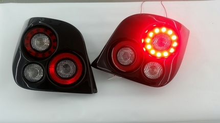 custom afterburner lights powered