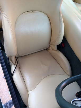 cerbera drivers seat sagging