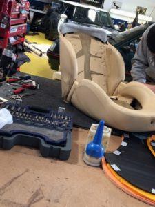 cerbera seat repair