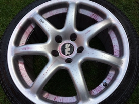 Cerbera wheel clean