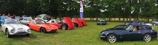 Darling Buds Car show TVR car club 2017