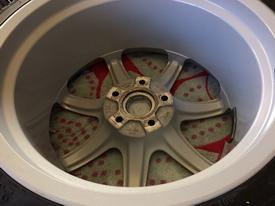 TVR cerbera clean wheels