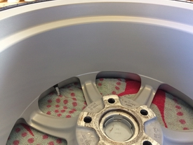TVR cerbera wheel cleaning