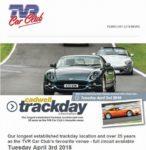 Cadwell Park TVR Car Club Track day 2018