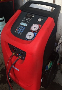 ac refill machine