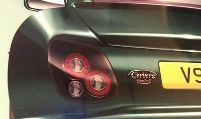 cerbera art - rear lights