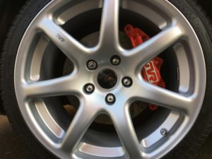 cerbera front brake caliper refresh