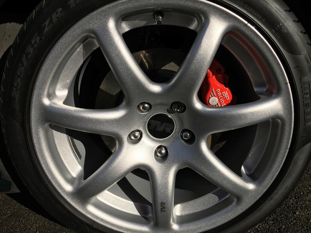 TVR Cerbera rear brake caliper refresh