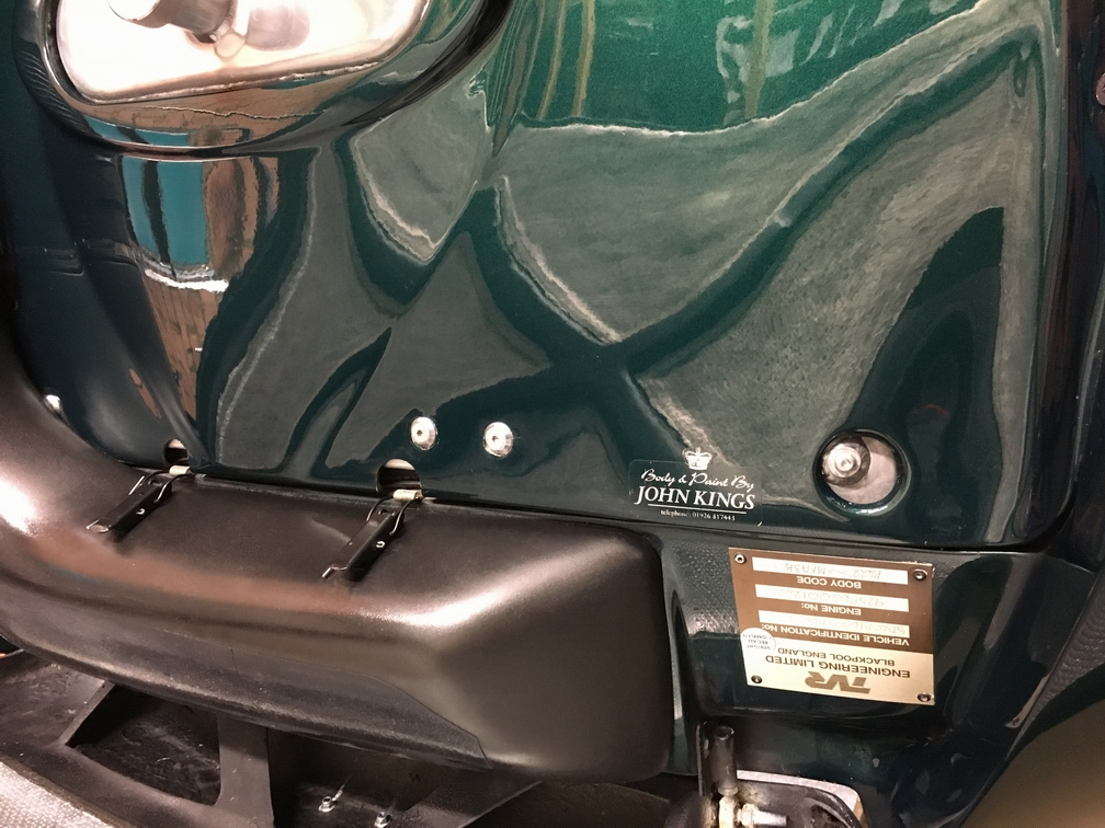 TVR Cerbera airbox protection
