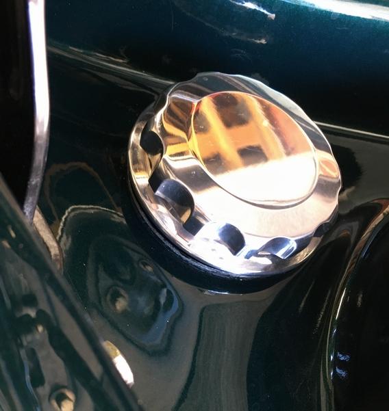 TVR Cerbera alloy fuel cap