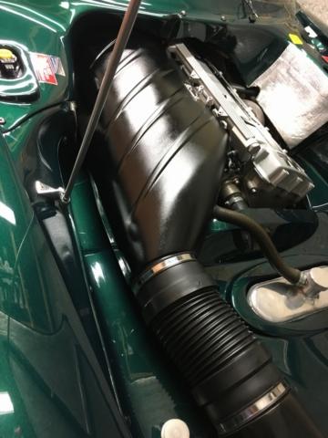 TVR Cerbera engine bay 1