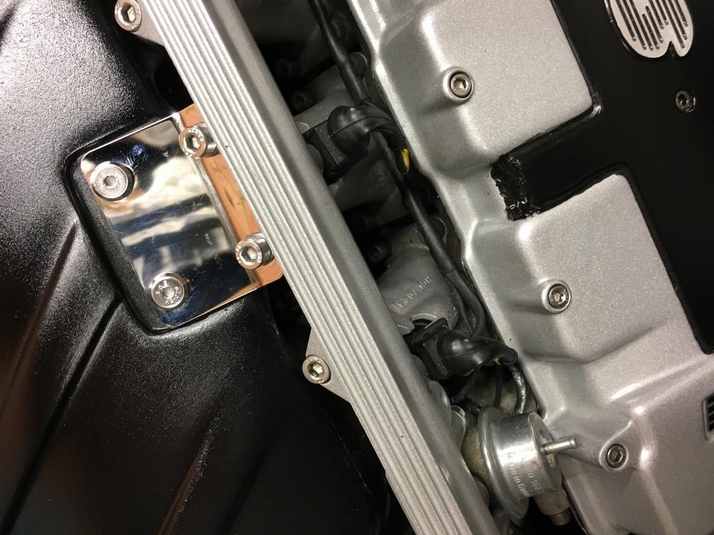 TVR Cerbera polished airbox bracket