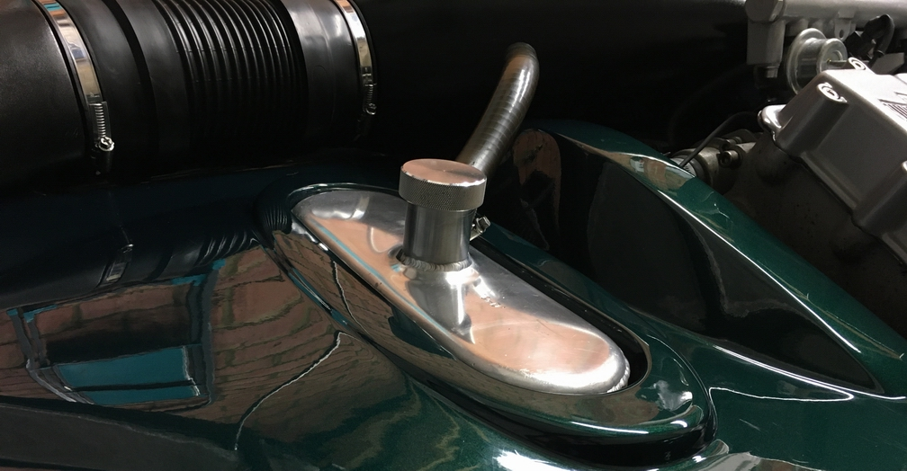 TVR Cerbera polished oil tank 1