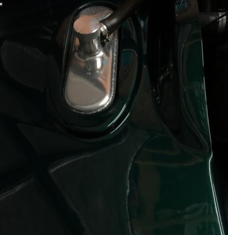 TVR Cerbera polished oil tank 2