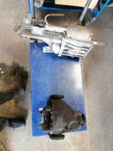 gearbox and differential