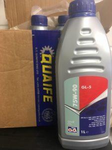 quaife gearbox oil