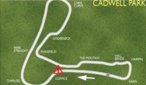 cadwell park map
