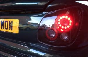 Custom afterburner lights